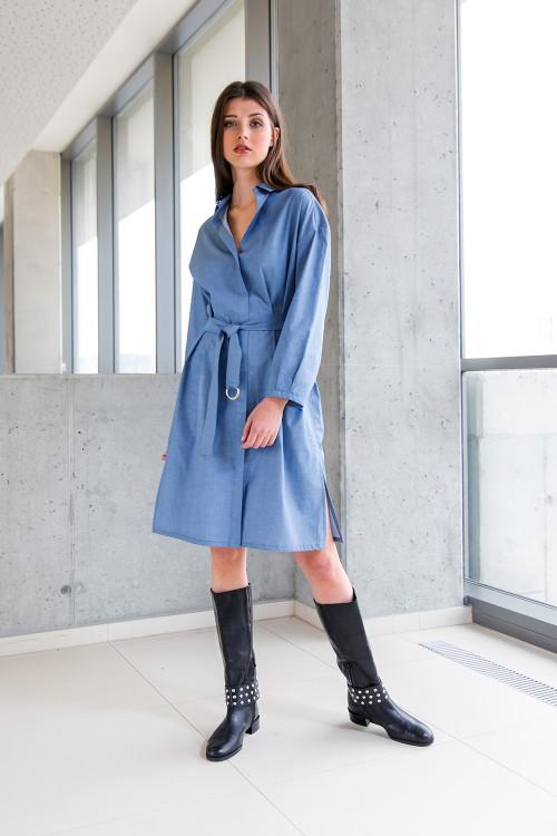 Světle modré šaty No. 32